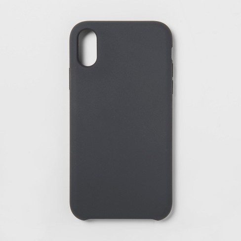 best service a8f9e 56b19 heyday™ Apple iPhone XR Silicone Case - Gray