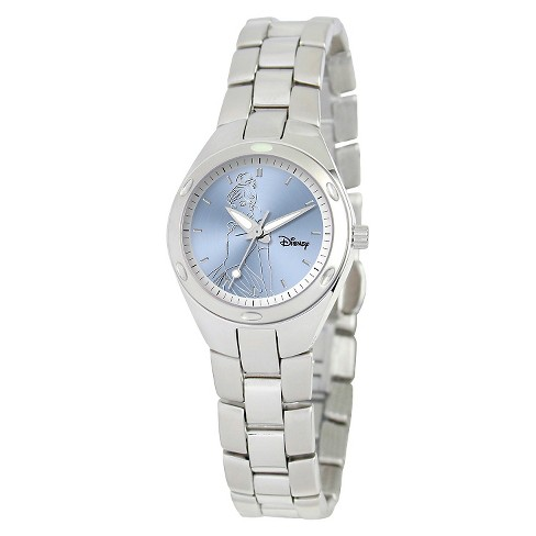 Women's Disney® Cinderella Fortaleza Watch - Silver - image 1 of 2