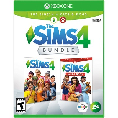 The Sims 4 Bundle: The Sims 4 + Cats & Dogs Expansion Pack - Xbox One