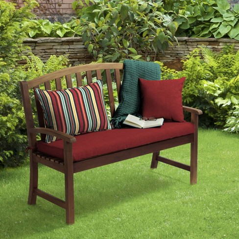 2pk Abella Stripe Oversized Outdoor Lumbar Pillows Ruby Arden