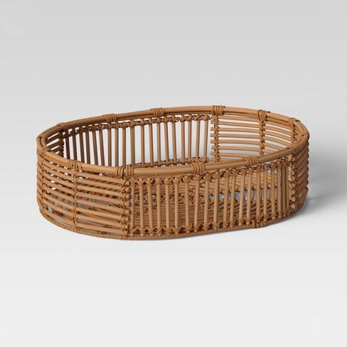 Rattan Basket Natural - Opalhouse™ - image 1 of 3