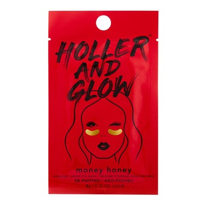 Holler And Glow Money Honey Facial Treatments   .10oz by .10oz