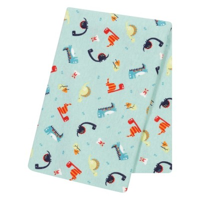 Trend Lab® Jumbo Deluxe Flannel Swaddle Blanket - Dinosaurs