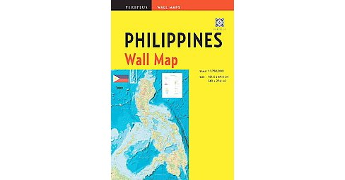 Periplus Philippines Wall Map (Sheet Map, folded) - image 1 of 1