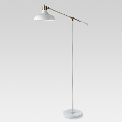 Crosby Schoolhouse Floor Lamp White Lamp Only - Threshold™