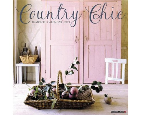 Country Chic 2019 Calendar -  (Paperback) - image 1 of 1