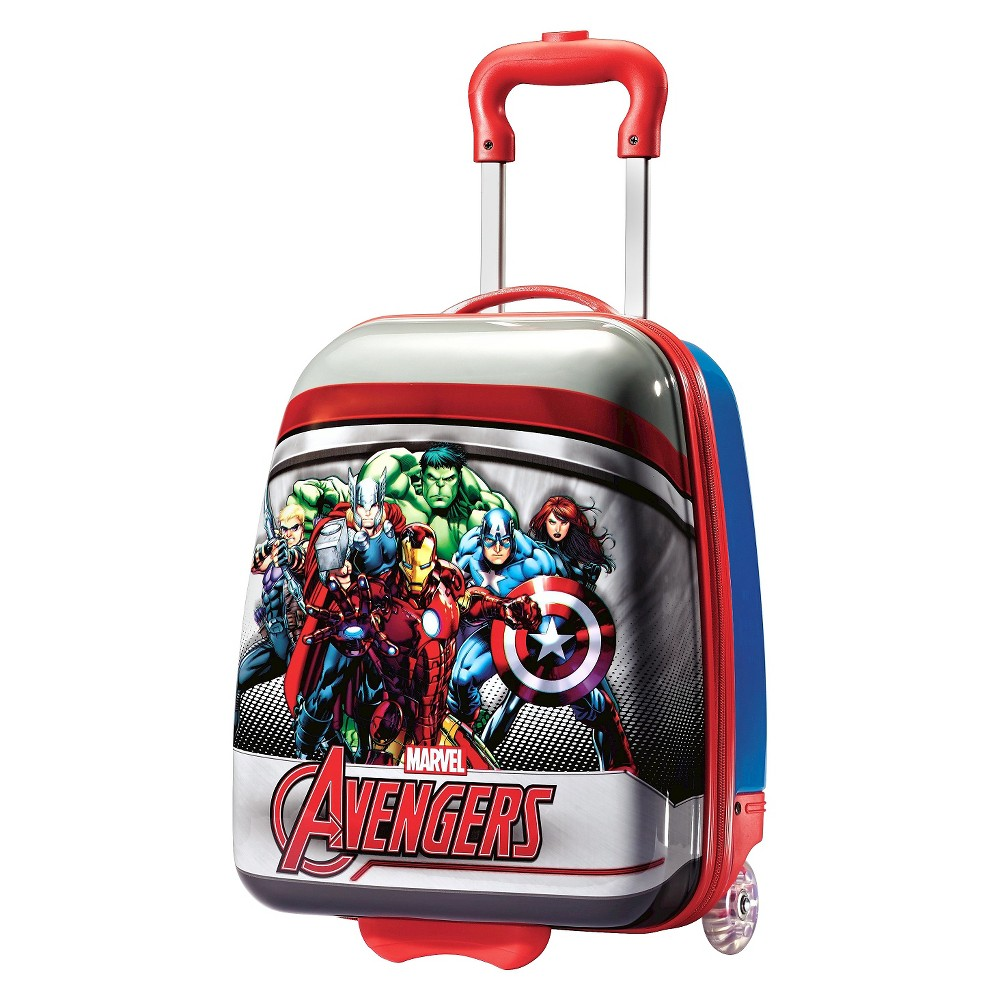 American Tourister Marvel Hardside Suitcase - Red/Blue (18), Multi-Colored