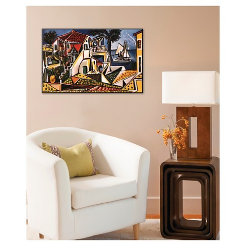 Art.com Mediterranean Landscape by Pablo Picasso - Mounted Print ...