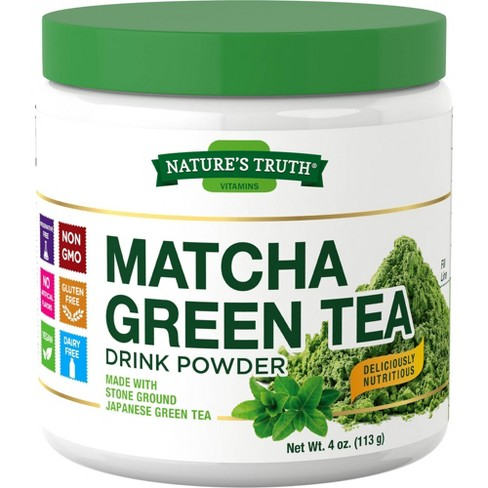Nature's Truth Stone Ground Matcha Green Tea - 4oz - image 1 of 3