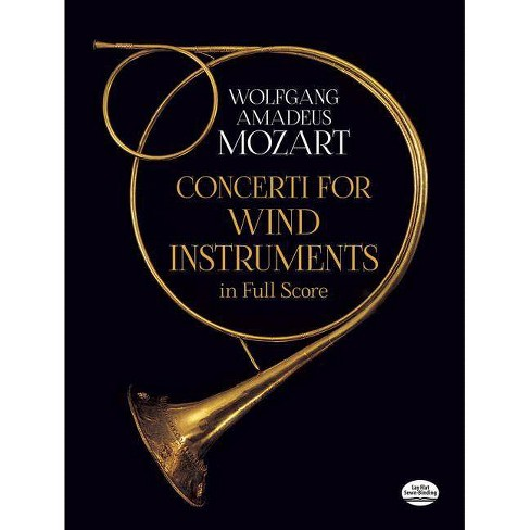 Concerti for Wind Instruments in Full Score - (Dover Music Scores) by  Wolfgang Amadeus Mozart - image 1 of 1