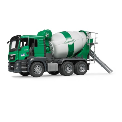 bruder toys man tgs cement mixer truck 1 16 scale realistic