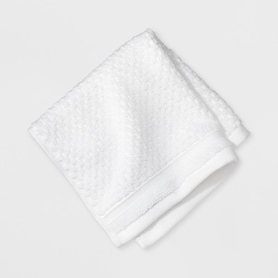 Wash Cloth Performance Bath Towels And Washcloths True White - Threshold™