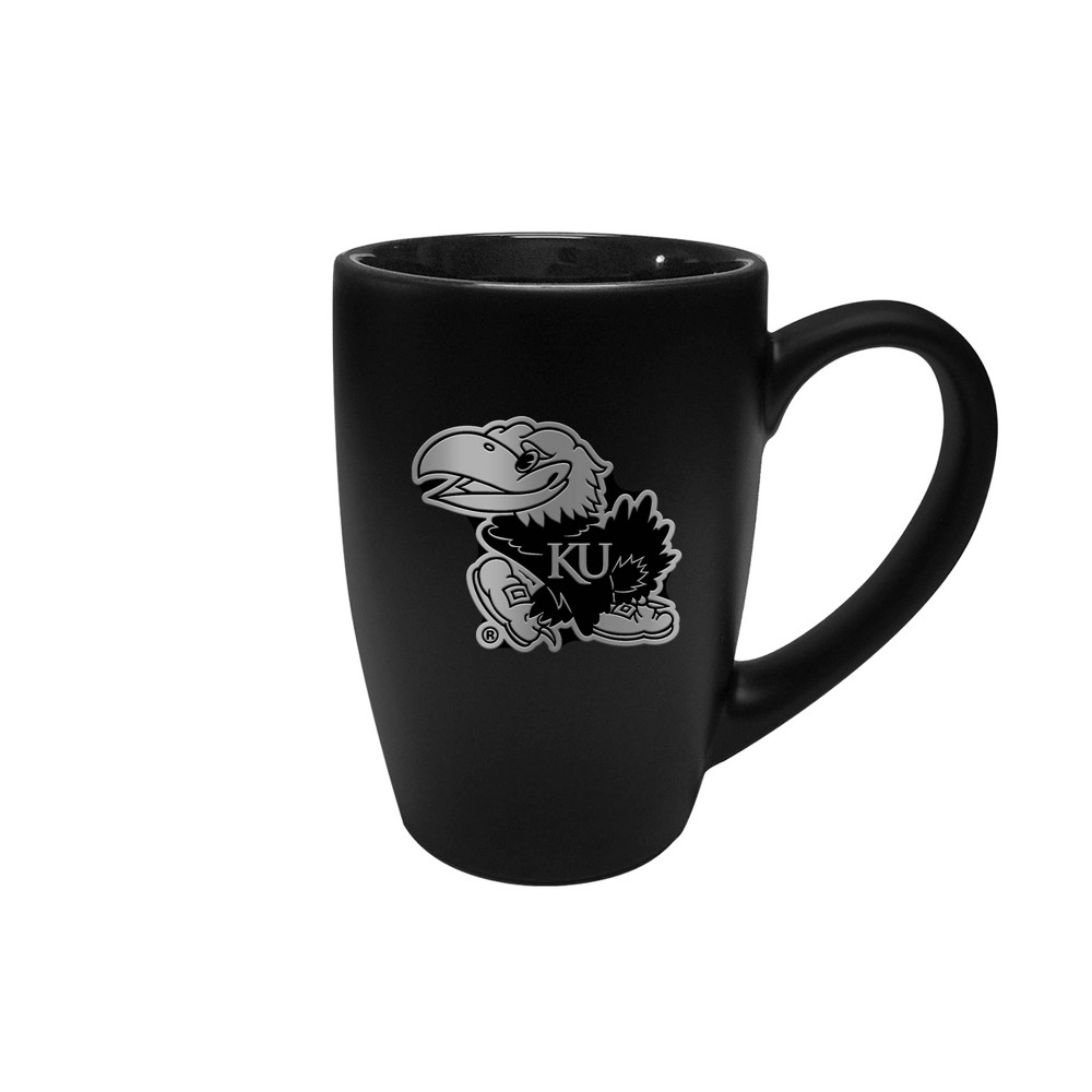 Ncaa Kansas Jayhawks 15oz Stealth Bistro Mug