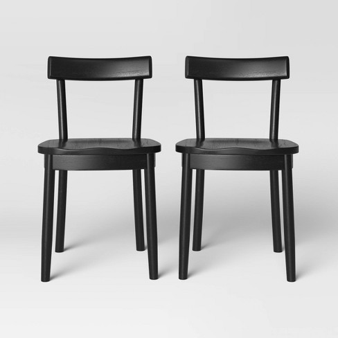 Set of 2 New London Wood Dining Chair - Threshold™ - image 1 of 4