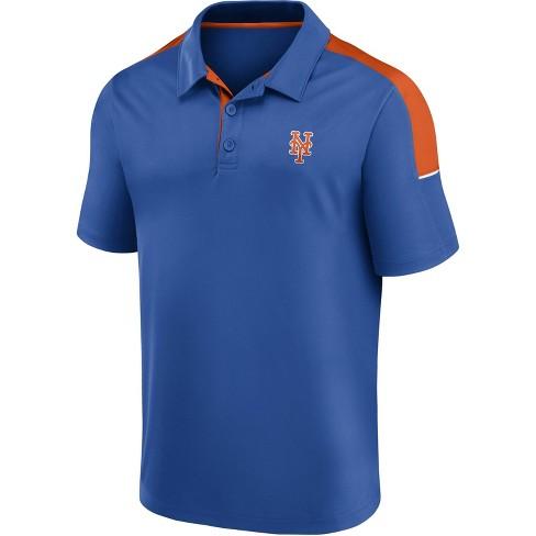 MLB New York Mets Men's Polo Shirt - XL
