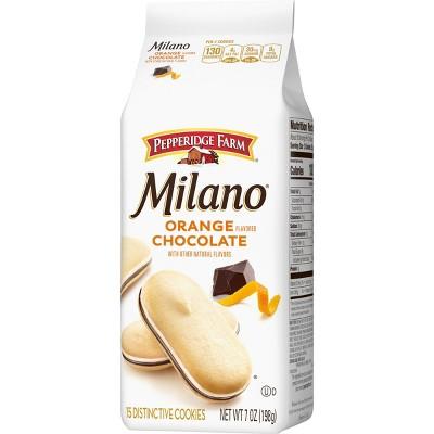 Pepperidge Farm Milano Orange Chocolate Cookies - 7oz