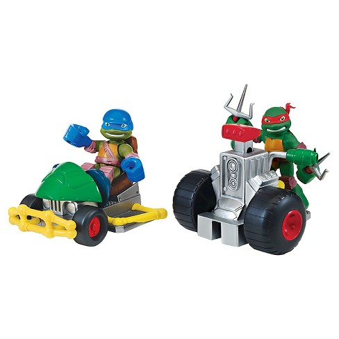 Teenage Mutant Ninja Turtles® PreCool Basic Vehicles Patrol Buggy - Raphael/Leonardo - image 1 of 6