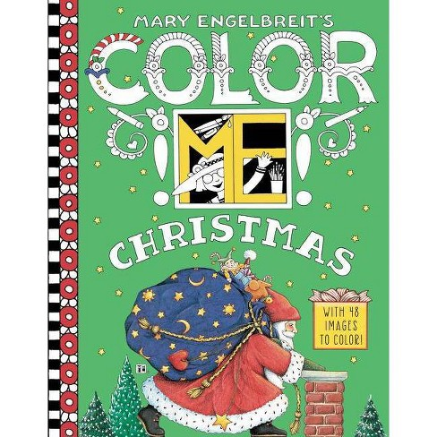 Mary Engelbreit's Color Me Christmas Coloring Book - (Paperback) - image 1 of 1