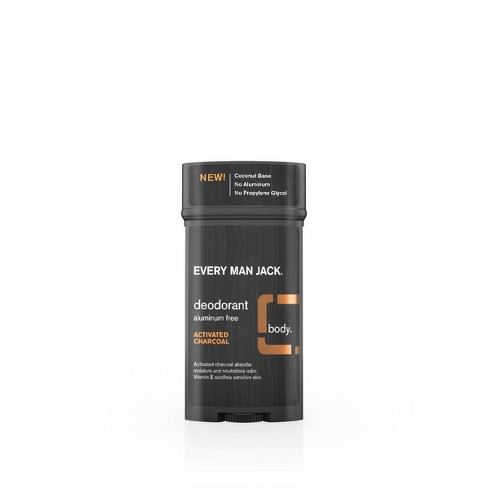Every Man Jack Activated Charcoal Deodorant - 3.0oz - image 1 of 3