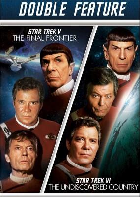 Star Trek V: The Final Frontier/Star Trek VI: The Undiscovered Country (DVD)