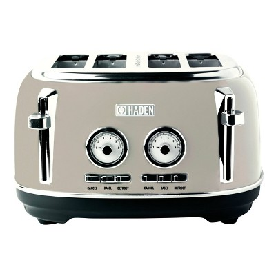 Dorset 4-Slice Toaster - Beige