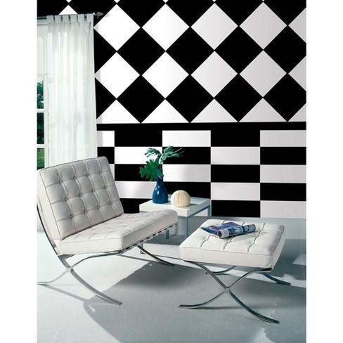 "(Set of 5) 13"" x 13"" Black Jack Blox Wall Decals - WallPops - image 1 of 2"