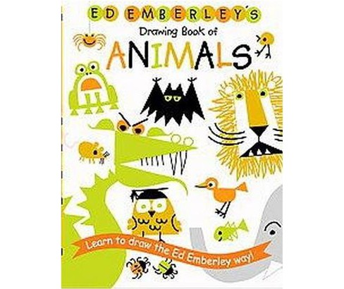 Ed Emberley S Drawing Book Of Animals Paperback Target