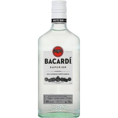 Bacardi Superior White Rum - 375ml Bottle