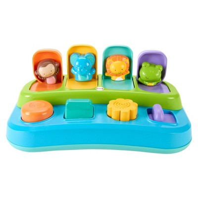 Fisher-Price My Little SnugaMonkey Animal Friends Pop-Up