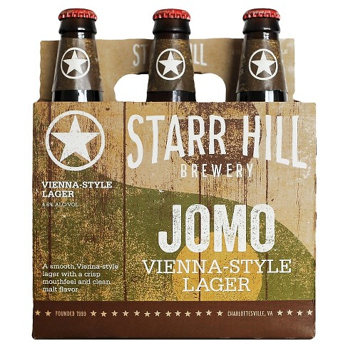 Starr Hill® Jomo Lager - 6pk / 12oz Bottles - image 1 of 1