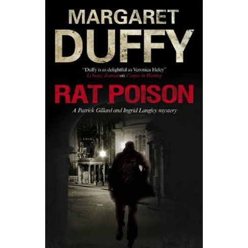 Rat Poison - (Patrick Gillard and Ingrid Langley Mysteries) by  Margaret Duffy (Hardcover) - image 1 of 1