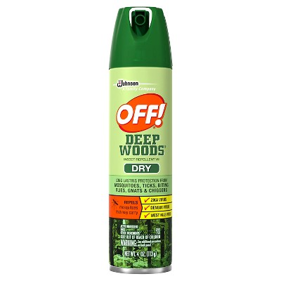 OFF! Deep Woods Insect Repellent VIII Dry, 4oz