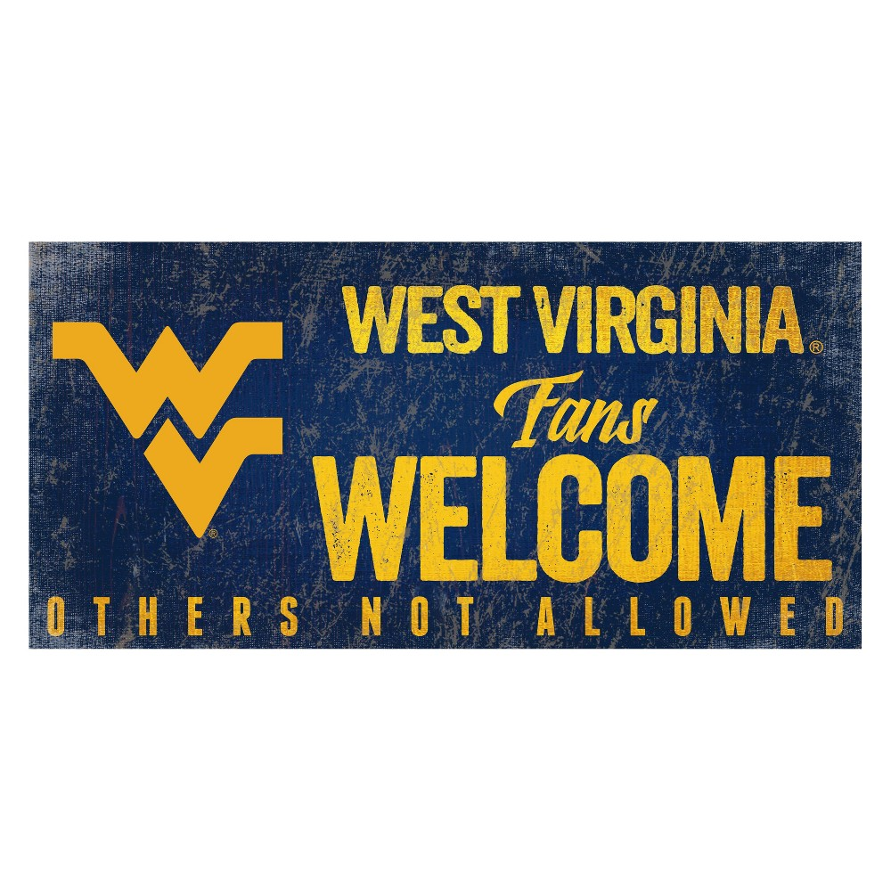 West Virginia Mountaineers Welcome Sign