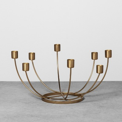 Candelabra Scalloped - Brass - Hearth & Hand™ with Magnolia