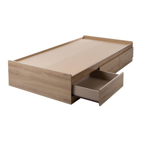 Fynn Mates Bed with 3 Drawers - Twin - South Shore - image 1 of 4