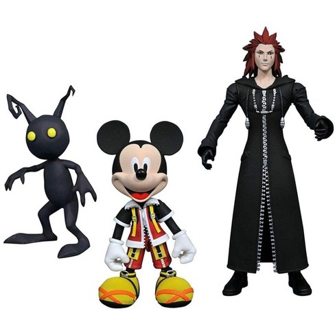 Diamond Comic Distributors, Inc. Kingdom Hearts Select Action Figure Set - Mickey, Axel & Shadow - image 1 of 2