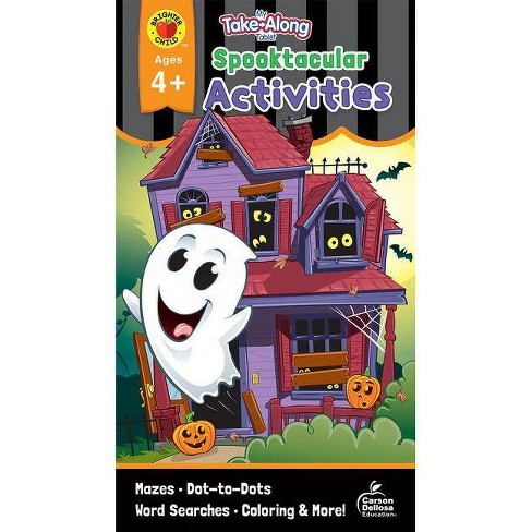 My Take-Along Tablet Spooktacular Activities, Ages 4 - 5 - (Paperback) - image 1 of 1