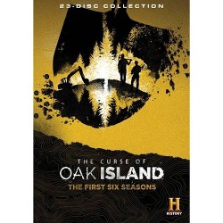 The Curse of Oak Island: The First Six Seasons (DVD)