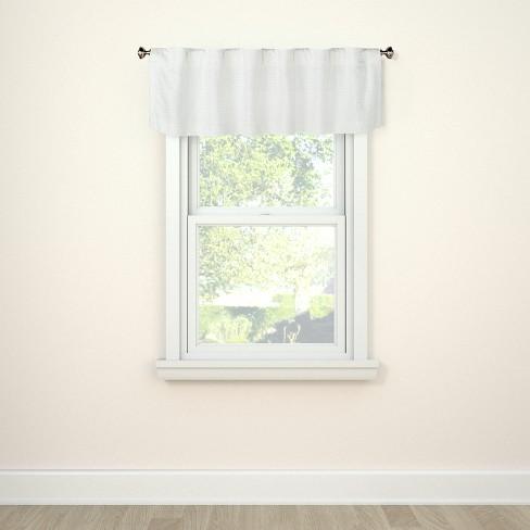 Window Valance Honeycomb White Threshold