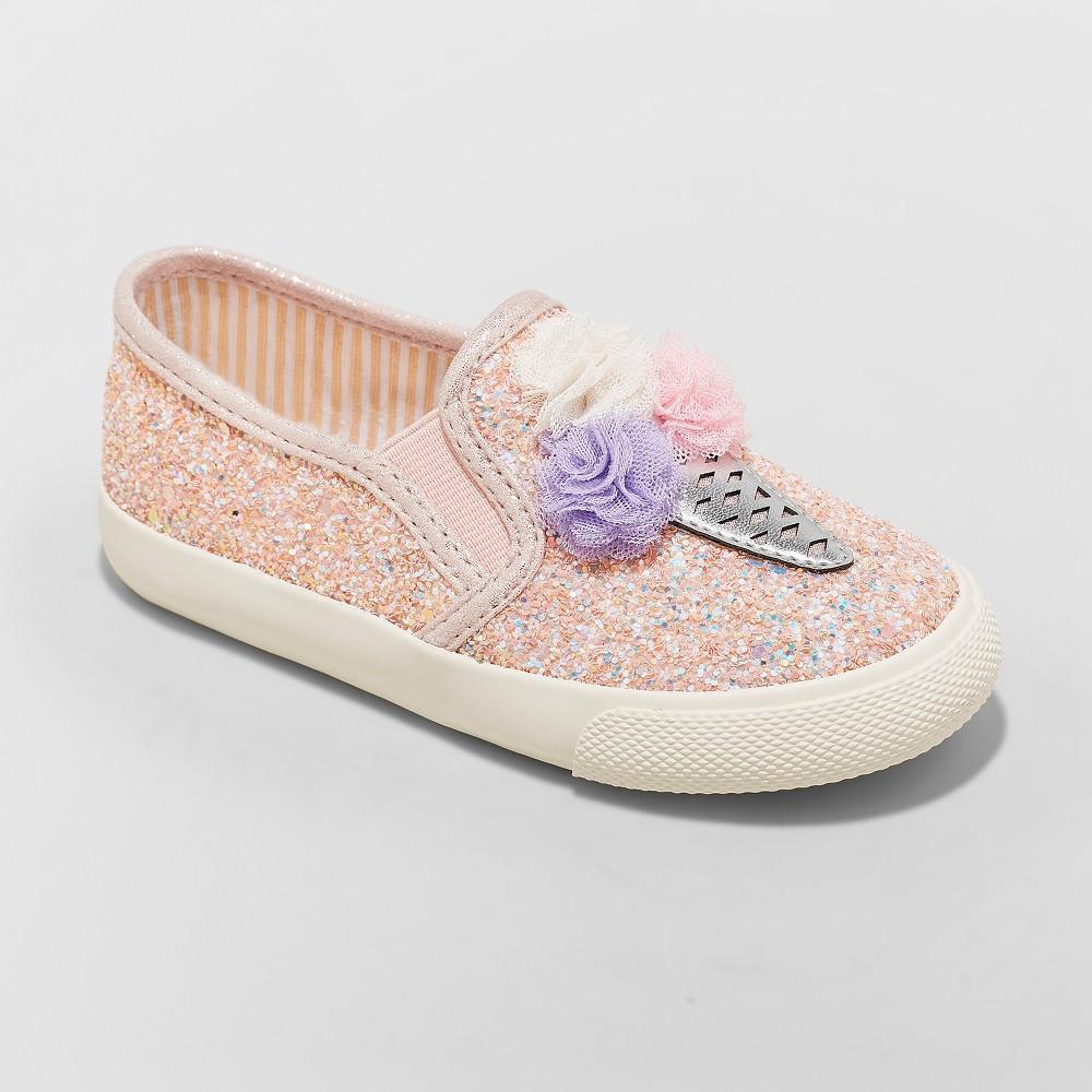 Toddler Girls' Freesia Ice Cream Sneakers - Cat & Jack Pink 5