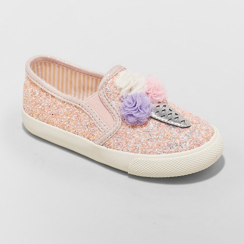 Toddler Girls' Freesia Ice Cream Sneakers - Cat & Jack™ Pink - image 1 of 6