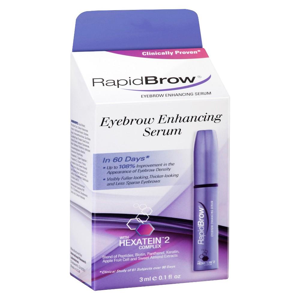 RapidBrow Eyebrow Enhancing Serum 0.1floz, Brown