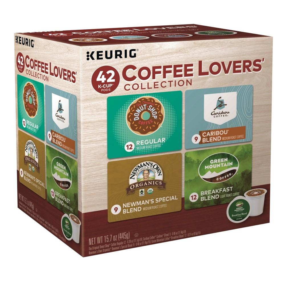 Keurig Coffee Lovers' Collection Sampler Variety Pack Medium Roast - Keurig K-Cup Pods - 42ct