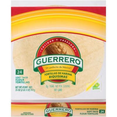GUERRERO Flour 24ct 35oz Taco Riquma