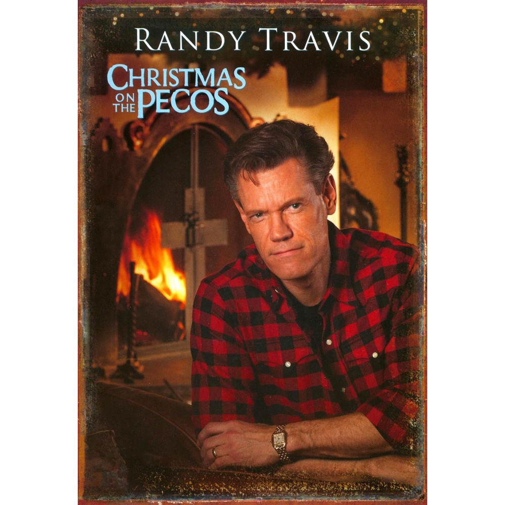 Randy travis:Christmas on the pecos (Dvd)