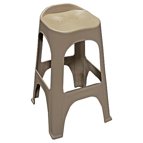 "30"" Real Comfort 2 Pk Barstool - Tan - Adams - image 1 of 1"