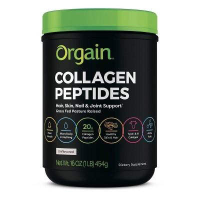 Orgain Collagen Peptide Powder - 16oz