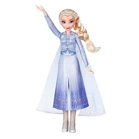 Disney Frozen 2 Singing Elsa Fashion Doll with Music - Blue - image 1 of 4