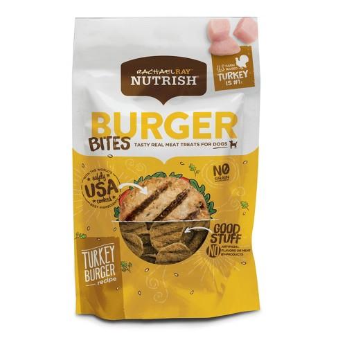 Rachael Ray Nutrish Burger Bites - Wet Dog Food - Turkey Burger Recipe - 12oz - image 1 of 3