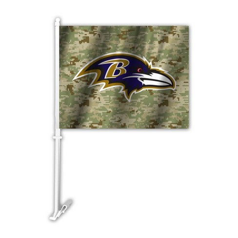 NFL Camo Car Flag - image 1 of 1